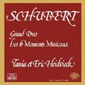 Schubert: Grand Duo, Les 6 Moments Musicaux / Eric Heidsieck(p), Tania Heidsieck(p)