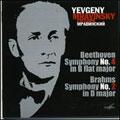 Beethoven:Symphony No.4/Brahms:Symphony No.2:Eugen Mravinsky