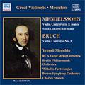 Mendelssohn:Violin Concerto/Bruch:Violin Concerto No.1:Yehudi Menuhin