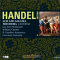 Handel Edition Vol.8: Acis and Galatea, Theodora, Agrippina Condotta a Morire, Armida Abbandonata, La Lucrezia / William Christie(cond), Les Arts Florissants, Il Giardino Armonico, etc