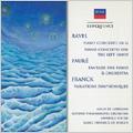 Ravel: Piano Concerto, Piano Concerto for the Left Hand; Faure: Fantasie for Piano & Orchestra Op.111, etc (1972-73) / Alicia de Larrocha(p), Lawrence Foster(cond), LPO, etc