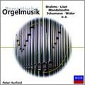 Romantische Orgelmusik - Brahms, Liszt, Mendelssohn, Schumann, Widor, etc / Peter Hurford(org)