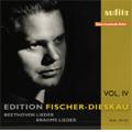 Beethoven: Maigesang Op.52-4, Marmotte Op.52-7, Zartliche Liebe WoO.123; Brahms: Heimkehr Op.7-6, Ein Sonett Op.14-4, etc (1951-52) / Dietrich Fischer-Dieskau(Br), Hertha Klust(p)