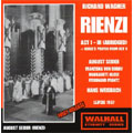 WAGNER:RIENZI-SELECTION (1954:+BT):H.WEISBACH(cond)/LEIPZIG SO & CHOIR/M.KLOSE(Ms)/A.SEIDER(T)/ETC