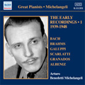 Early Recordings Vol.1 (1939-1948) / Arturo Benedetti Michelangeli(p)