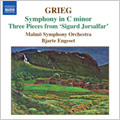 Grieg:Orchestral Music Vol.3 -Symphony EG.119/Old Norwegian Romance with Variations Op.51/etc:Bjarte Engeset(cond)/Malmo Symphony Orchestra