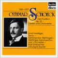 O.Schoeck: Der Postillon Op.18, Mit Einem Gemalten Band, Marienlied, etc (1967) / Ernst Haefliger(T), Karl Grenacher(p&cond), Wettingen Chamber Orchestra, etc
