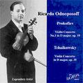 ~Legendary Artistsシリーズ~ プロコフィエフ: ヴァイオリン協奏曲第1番、チャイコフスキー: ヴァイオリン協奏曲