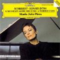 Schubert: Piano Sonata No.14, 6 Moments Musicaux D.780, 2 Scherzo D.593 / Maria-Joap Pires(p)
