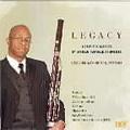 Legacy -A.Hailstork, D.B.Roumain, E.Bland, W.G.Still, U.Kay, etc / Lecolion Washington(fg), Mark Ensley(p), etc