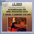 J.S.Bach: Selection From Notenbuchlein fur Anna Magdalena Bach