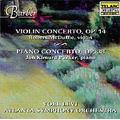 Barber: Violin Concerto Op.14, Piano Concerto Op.38, Souvenirs Op.28 / Yoel Levi(cond), Atlanta SO, etc
