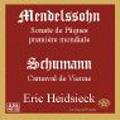 Mendelssohn: Sonate de Paques / Eric Heidsieck(p)