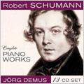 Schumann: Complete Piano Works / Jorg Demus(p) (13-CD Wallet Box)