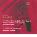 Wagner: Parsifal (5/8/1971) / Reginald Goodall(cond), Royal Opera House Covent Garden Orchestra, Jon Vickers(T), Norman Bailey(Br), Amy Shuard(S), etc