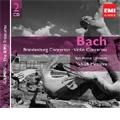J.S.Bach: Brandenburg Concertos No.1-No.6, Concerto BWV.1043, Violin Concerto BWV.1042 (1958-59) / Yehudi Menuhin(vn/cond), Bath Festival Orchestra, etc
