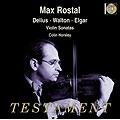 Delius, Walton, Elgar: Violin Sonatas / Rostal, Horsley