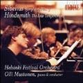 Sibelius: Symphony no 3;  Hindemith / Mustonen, Helsinki