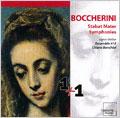 Boccherini: Stabat Mater, Symphony Op.12-4, etc