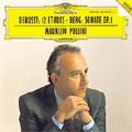 Debussy: 12 Etudes; A.Berg: Piano Sonata Op.1 / Maurizio Pollini(p)