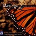 Ross Edwards: Maninyas, Symphony Da Pacem Domine, Yarrageh / Stuart Challender(cond), David Porcelijn(cond), Sydney Symphony Orchestra, Dene Olding(vn), Ian Cleworth(perc), Anthony Baldwin(p)