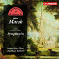 J.Marsh: Symphonies No.2, No.6-No.8, Conversation Symphony / Matthias Bamert(cond), London Mozart Players