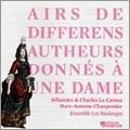 Airs de Differens Autheurs Donnes a Une Dame / Ensemble les Meslanges