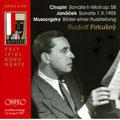 Chopin; Janacek; Mussorgsky: Piano Works