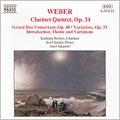 Weber: Clarinet Quintet, Grand Duo, etc / Berkes, Jandoe