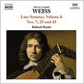 Weiss: Lute Sonatas Vol.6 - Sonatas No.45, No.7, No.23