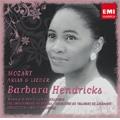 Mozart: Arias & Lieder / Barbara Hendricks(S), Jeffrey Tate(cond), English Chamber Orchestra, Maria-Joao Pires(p), Goran Sollscher(g), Lausanne Chamber Orchestra