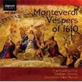 C.Monteverdi :Vespers of 1610 / Ralph Allwood(cond), Southern Sinfonia, Rodolfus Choir, etc