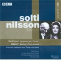 "Beethoven: Symphony No.3 Op.55 ""Eroica"" (1/30/1968); Wagner: Gotterdammerung -Siegfried's Rhine Journey (9/6/1963), etc / Georg Solti(cond), LSO, CGRO, Birgit Nilsson(S)"