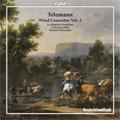Telemann: Wind Concertos Vol.2 -Recorder Concerto TWV.51 C1, Concerto for 2 Flutes, Bassoon, Strings and Basso Continuo TWV.53 D1, etc / Michael Schneider(cond), La Stagione Frankfurt, Camerata Koln