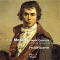 """Mozart: """"Haydn"""" Quartets ( I ) -No.15 K.421, No.17 K.458 """"The Hunt"""", No.19 K.465 """"Dissonant""""  / Prazak Quartet"""
