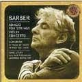 New Masterworks - Barber, Schuman, etc / Bernstein, Stern
