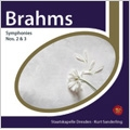 Brahms: Symphony No.2, No.3 / Kurt Sanderling(cond), Staatskapelle Dresden