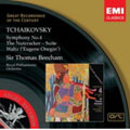 Tchaikovsky: Symphony No.4/The Nutcracker Suite/etc:Thomas Beecham(cond)/RPO