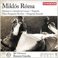 M.Rozsa: Orchestral Works Vol.1 -3 Hungarian Sketches Op.14, Hungarian Serenade Op.25, Overture to a Symphony Concert Op.26a, etc / Rumon Gamba(cond), BBC PO