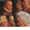 Actus Tragicus: J.S.Bach: Cantata BWV.18, BWV.106, BWV.150 / Philippe Pierlot, Ricercar Consort, Katharine Fuge, Carlos Mena, Jan Kobow, Stephan Macleod