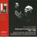 【ワケあり特価】George Szell:Salzburg Orchestral Concert 1958-1968
