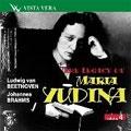 THE LEGACY OF MARIA YUDINA VOL.4:BEETHOVEN:PIANO SONATA NO.29/BRAHMS:INTERMEZZI:M.YUDINA(p)