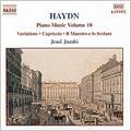 HAYDN:PIANO VARIATIONS:20 VARIATIONS HOB.XVII-2/THEME & VARIATIONS HOB.XVII-5/ETC:JENO JANDO(p)/ZSUZSA KOLLAR(p)