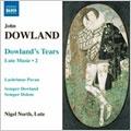 DOWLAND:COMPLETE LUTE MUSIC VOL.2:LACHRIMAE PAVAN/GALLIARD TO LACHRIMAE/ETC:NIGEL NORTH(lute)