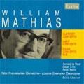 W.MATHIAS:CLARINET CONCERTO OP.68/HARP CONCERTO OP.50/PIANO CONCERTO NO.3 OP.40:DAVID ATHERTON(cond)/LSO/ETC