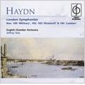 Haydn: Symphonies No.100, No.102-No.104 / Jeffrey Tate(cond), English Chamber Orchestra