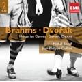 Brahms: Hungarian Dances, Liebeslieder Op.52; Dvorak: Slavonic Dances Op.46, Op.72, etc / Michel Beroff(p), Jean-Philippe Collard(p)