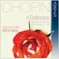 Chopin: 4 Ballades, Fantaisie Op.49, Barcarolle Op.60, 4 Mazurkas Op.30 (3/2007) / Alessandra Ammara(p)