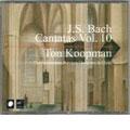 J.S.Bach: Complete Cantatas Vol.10 / Koopman