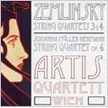 Zemlinsky: String Quartets No.3, No.4 / Artis Quartett Wien